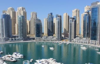 Dubai Marina Wallpaper 06 1600x900 340x220