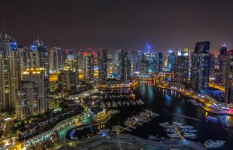 Dubai Marina Wallpaper 07 5187x3066 340x220