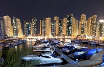 Dubai Marina Wallpaper 08 3000x1123 340x220