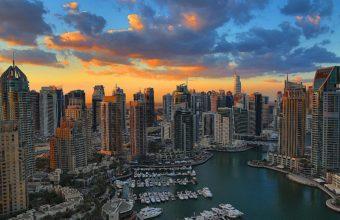 Dubai Marina Wallpaper 10 2560x1707 340x220