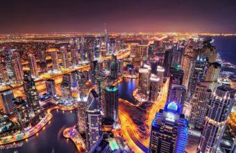 Dubai Marina Wallpaper 11 1920x1080 340x220
