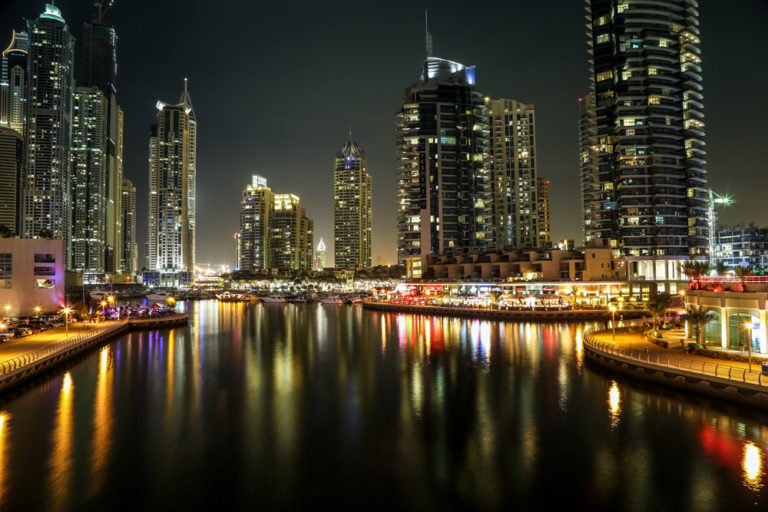Dubai Marina Wallpaper 15 1000x667 768x512