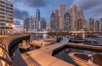Dubai Marina Wallpaper 22 1920x1080 340x220
