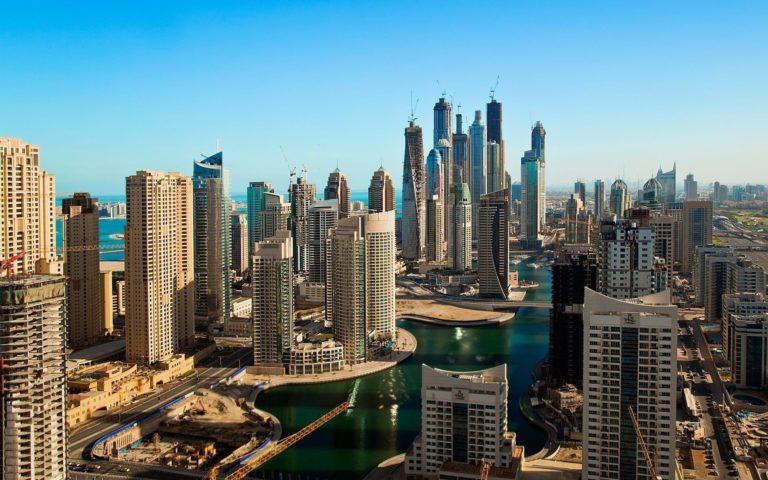 Dubai Marina Wallpaper 26 1920x1200 768x480