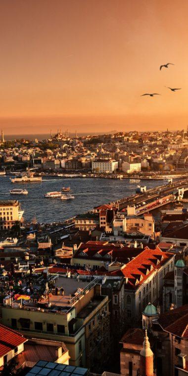 Evening Sunset Istanbul Turkey 720x1440 380x760