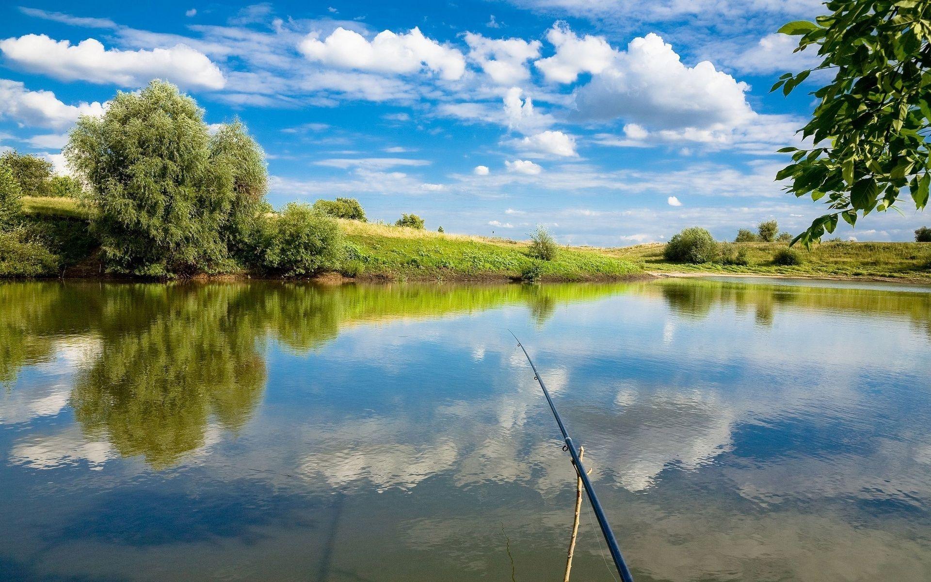 Fishing Desktop Background 01
