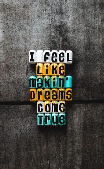 I Feel Like Makein Dreams Come True Wallpaper