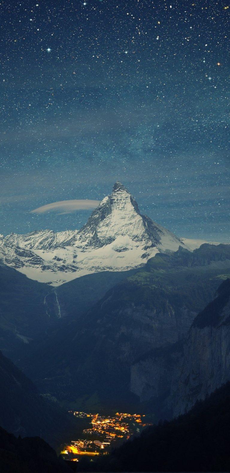 Mountains Landscapes Nature Snow 1080x2220 768x1579