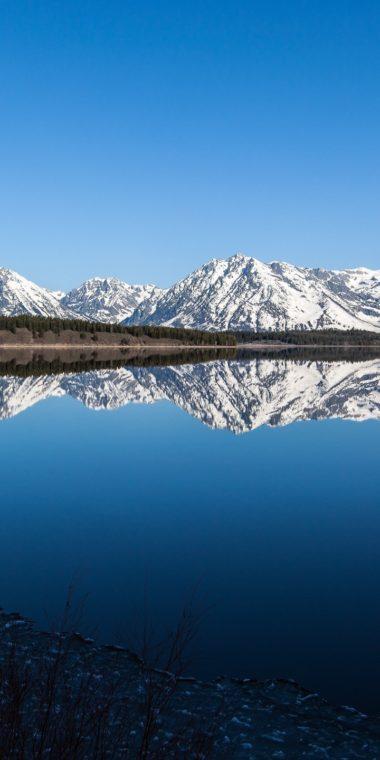 Mountains Landscapes Nature Snow USA 720x1440 380x760