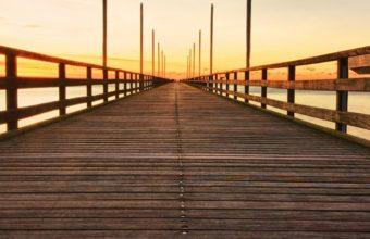 Nature Landscape Bridge Perspective Sky 1080x2220 340x220