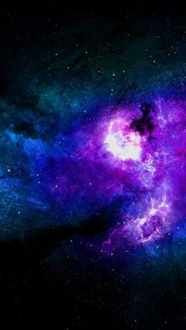 Nebula Stars Space 540x960 380x676