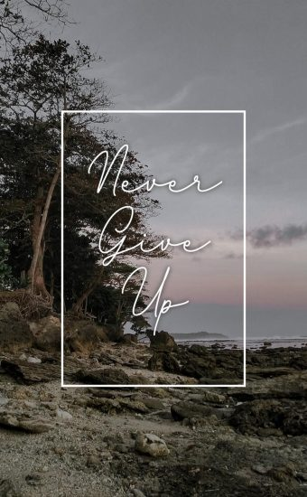 Never Give Up Wallpaper 02