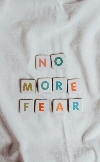 No More Fear Wallpaper