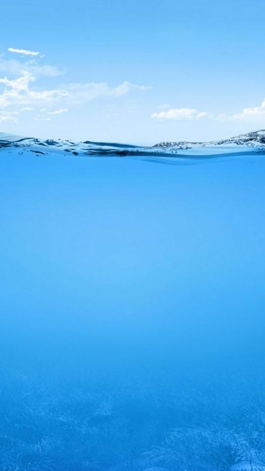 Ocean Sea Lake River Underwater 540x960