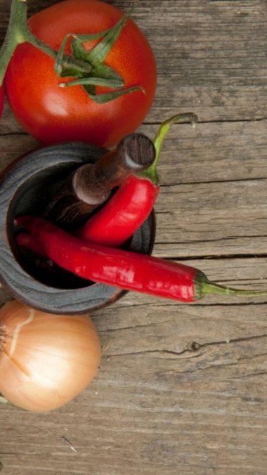 Pepper Red Tomato Onione 540x960 380x676