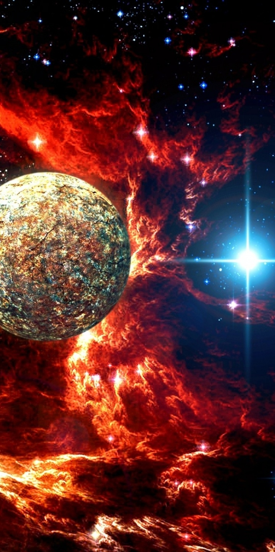 Sci Fi Space 720x1440
