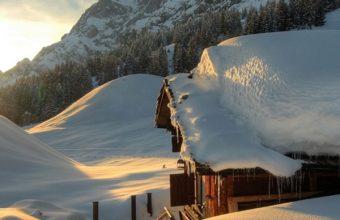 Seasons Winter Austria Mountains 720x1440 340x220