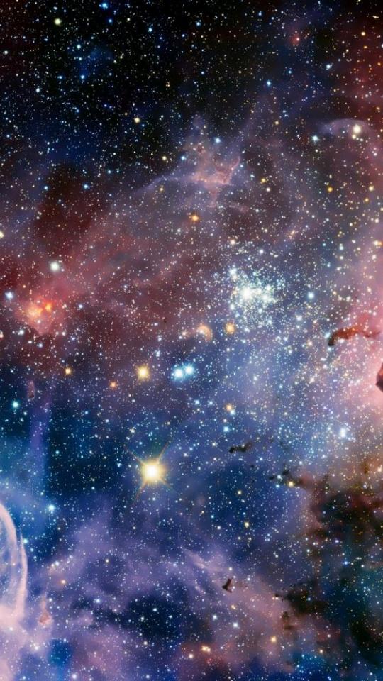 Space Nebula Stars 540x960