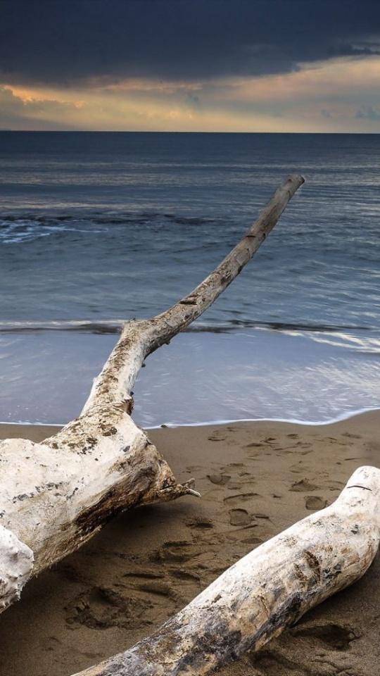 Sunset Sea Landscape Ocean 540x960