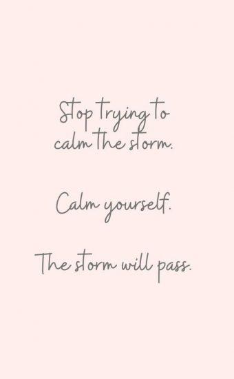 The Storm Will Pass Wallpaper