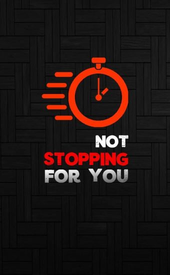 Time Not Stopping For You Wallpaper