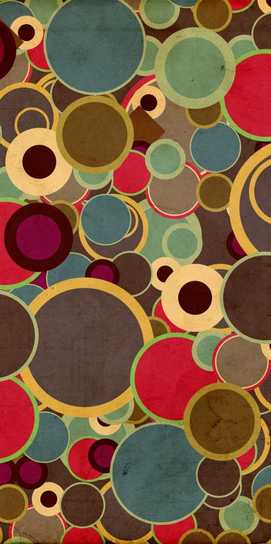 Warm Color Circles 720x1440