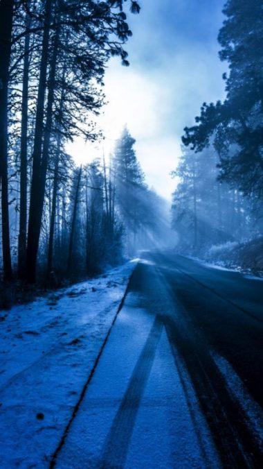 Winter Snow Landscape Nature 540x960 380x676