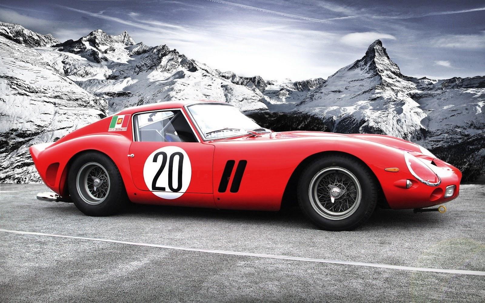 Ferrari 250 Gto Wallpapers: Ferrari 250 GTO Wallpaper 03