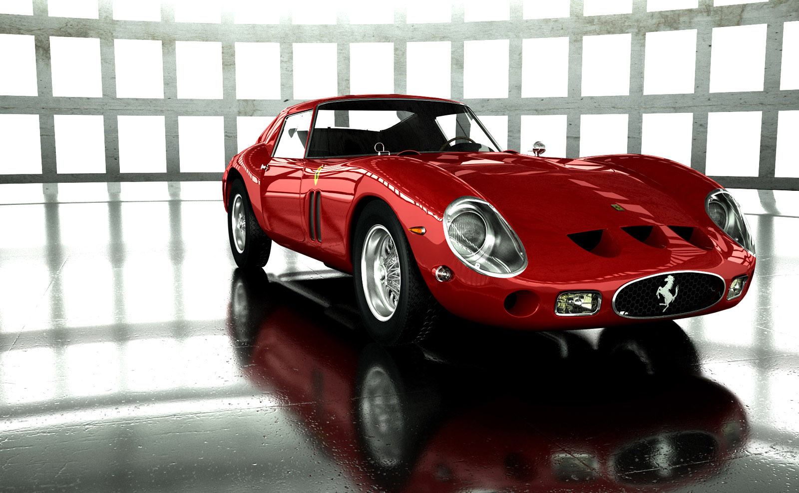 Ferrari 250 Gto Wallpapers: Ferrari 250 GTO Wallpaper 09
