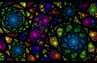 Glass Wallpaper 13 1366x768 340x220