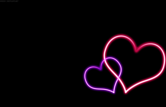 Hearts Wallpaper 03 1366x768 340x220