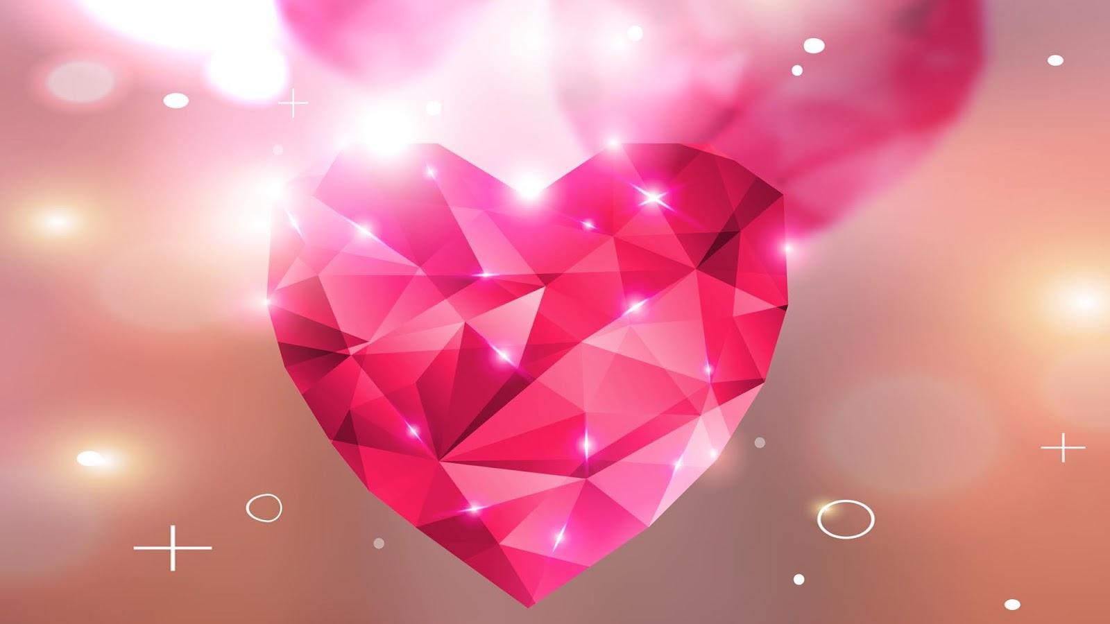 Hearts Wallpaper 09 1600x900