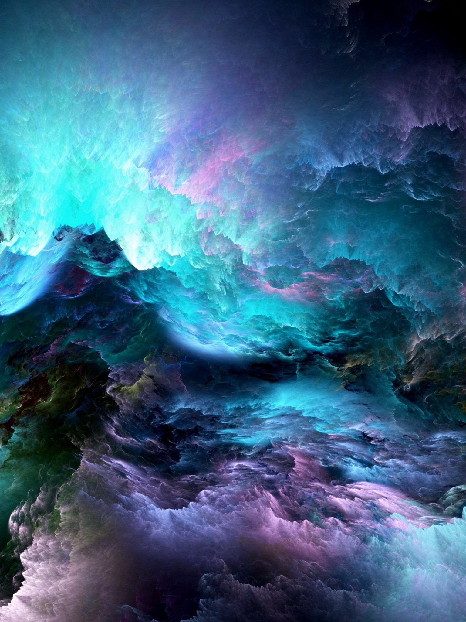 Abstract 3d Graphics Wallpaper