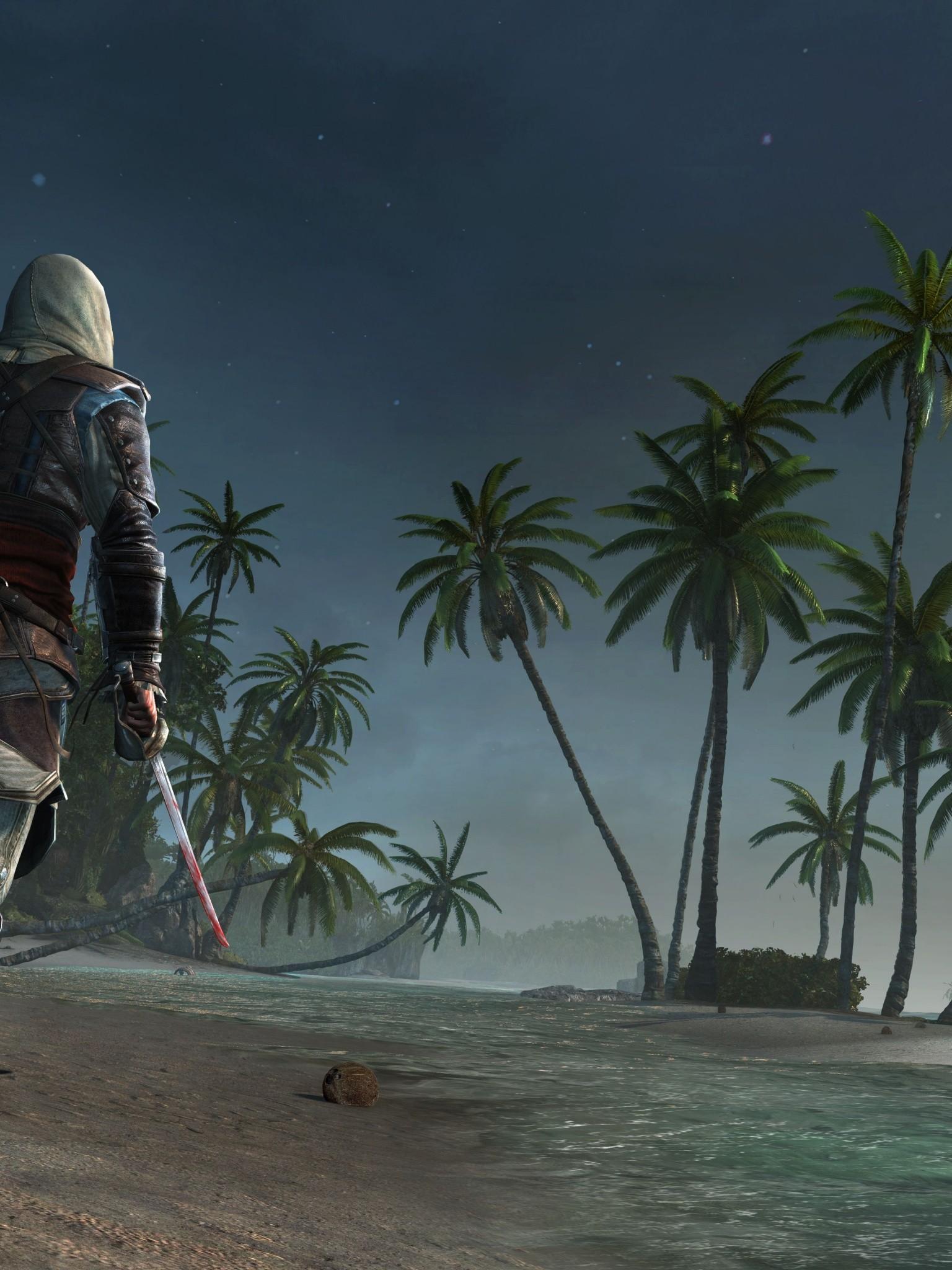 Assassins creed 4 black flag wallpaper 1536x2048 voltagebd Gallery