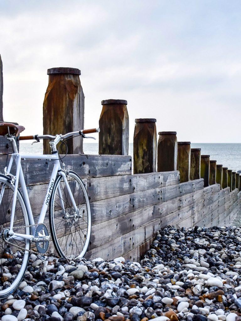 Beach Bicycle Bike Nature Ocean Wallpaper 1536x2048 768x1024
