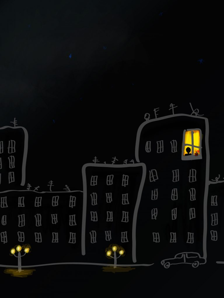 City Month Windows Home Street Kiev Wallpaper 1536x2048 768x1024