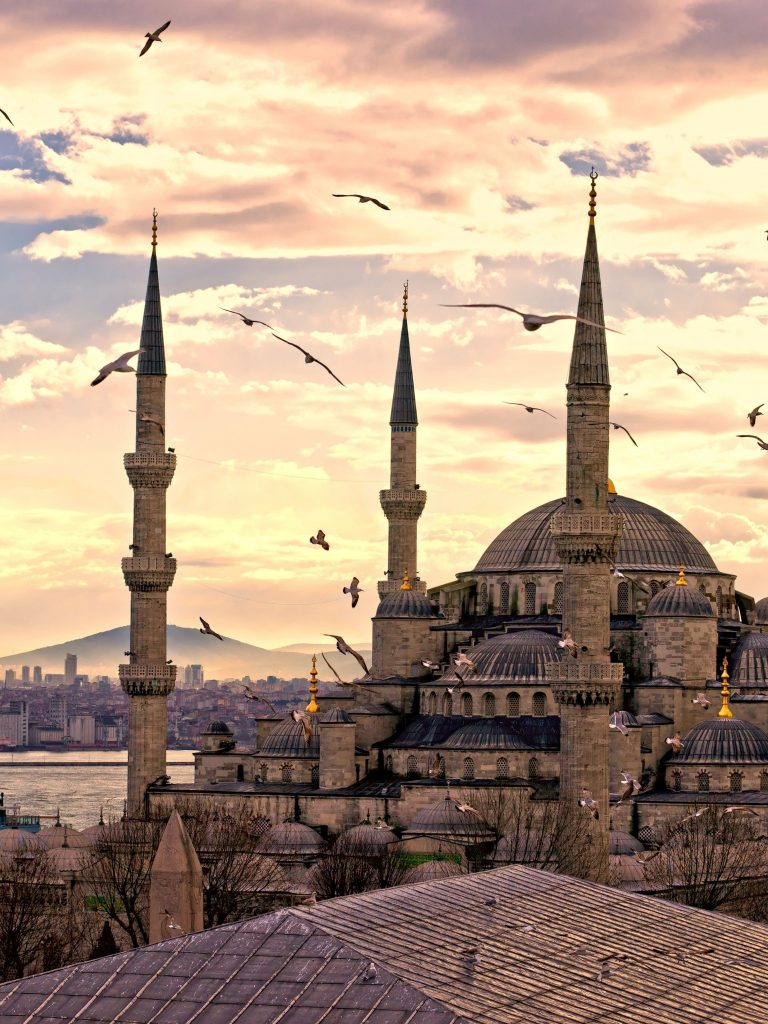 City Turkey Istanbul Sultanahmet Mosque Wallpaper 1536x2048 768x1024