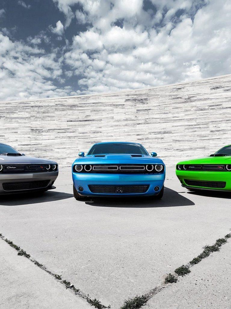 Dodge Challenger 2015 Muscle Car Wallpaper 1536x2048