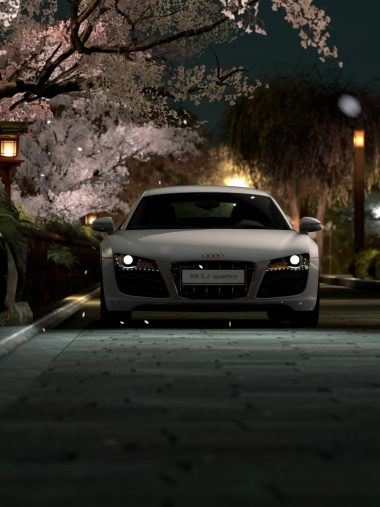 Japan Night Audi Audi R8 Wallpaper 1536x2048 380x507