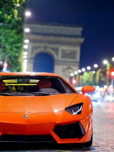 Lamborghini Aventador Night Shot Supercar Wallpaper 1536x2048 380x507