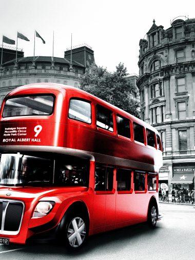 London Bus Wallpaper 1536x2048 380x507