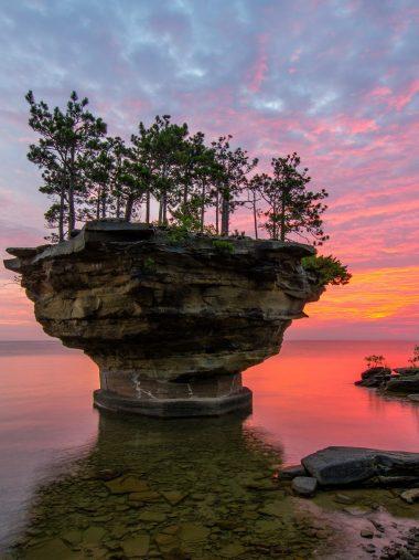 Michigan Lake Huron Sunset Wallpaper 1536x2048 380x507