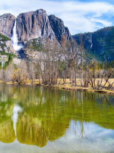 Mountains Waterfall River Wallpaper 1536x2048 380x507