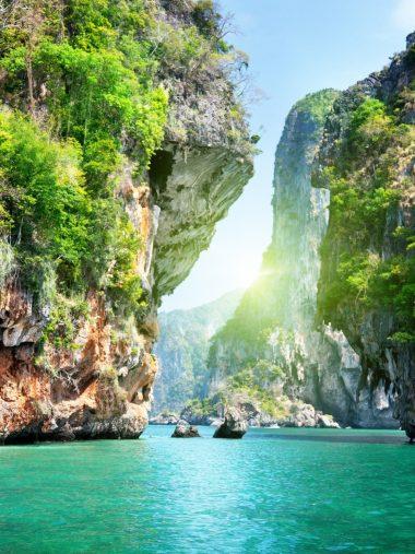 Naturaleza Catarartas Islas Oceano Wallpaper 1536x2048 380x507