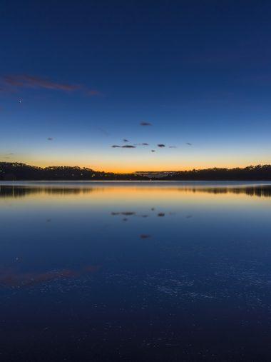 Nature Lake Sunset Landscape Wallpaper 1536x2048 380x507