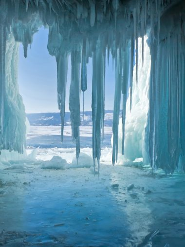Russia Lake Winter Baikal Wallpaper 1536x2048 380x507