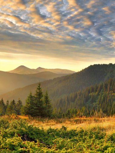 Scenery Sky Mountains Wallpaper 1536x2048 380x507