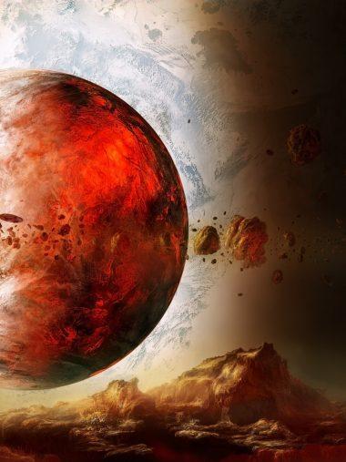 Sci Fi Science Wallpaper 1536x2048 380x507