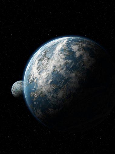 Scientific Space Planet Galaxy Stars Mac Wallpaper 1536x2048 380x507