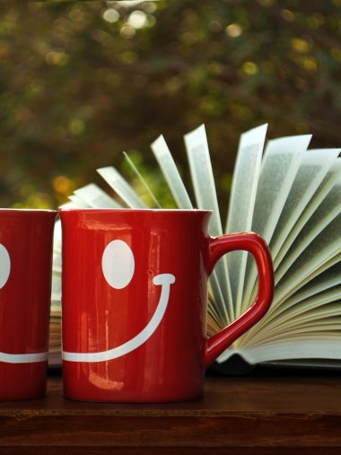 Smile Drawing Cup Book Red Wallpaper 1536x2048 380x507